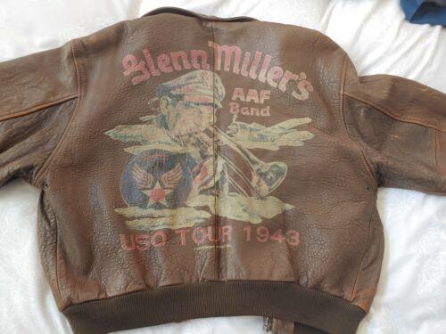 Avirex Old Leather Flight Jacket