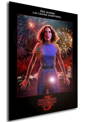 stagione 3 Stranger Things Locandina Poster Eleven