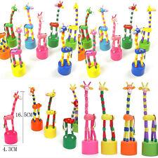 1PC  Puzzles Swing-Tanz-Karikatur-Tier Schaukel Giraffe Spielzeug heißer Verkauf