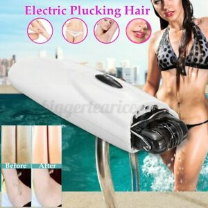 Electric-Epilator-Cordless-Women-039-s-Facial-Hair-Remover-Catcher-Face-Bikini-Legs