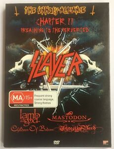 Slayer-The-Unholy-Alliance-Chapter-II-2-DVD-Oz-Seller-Fast-Post