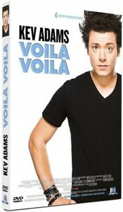 KEV-ADAMS-Voila-Voila-DVD-NEUF-SOUS-BLISTER-Spectacle-Olympia-2014