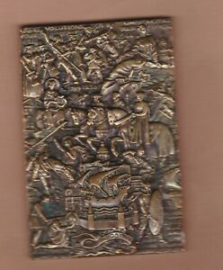 1951 France Raymond delamarde Ville de Paris Médaille de bronze en très bon état