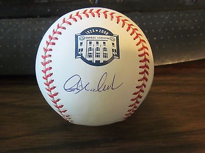 Signed Baseball Yankees Stadium Final Season Psa Commodities Are Available Without Restriction Energetic Joba Chamberlain Autograph Sports Mem, Cards & Fan Shop