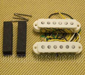 099-2271-000 Fender V-Mod Aged White Jaguar Guitar Pickup Set