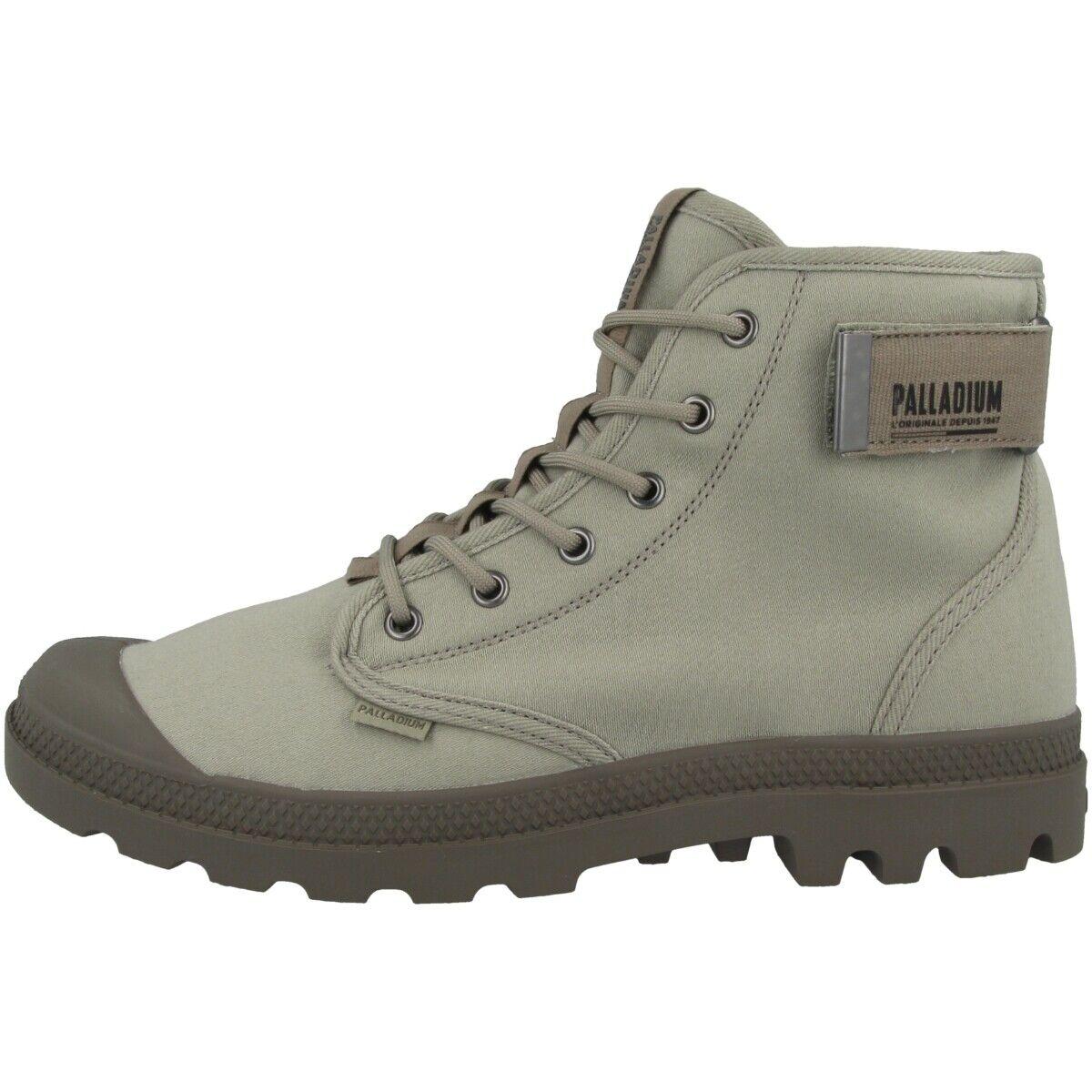 Palladium Pampa Strapped Stiefel Schuhe Herren High Top Freizeit Turnschuhe 06435-061