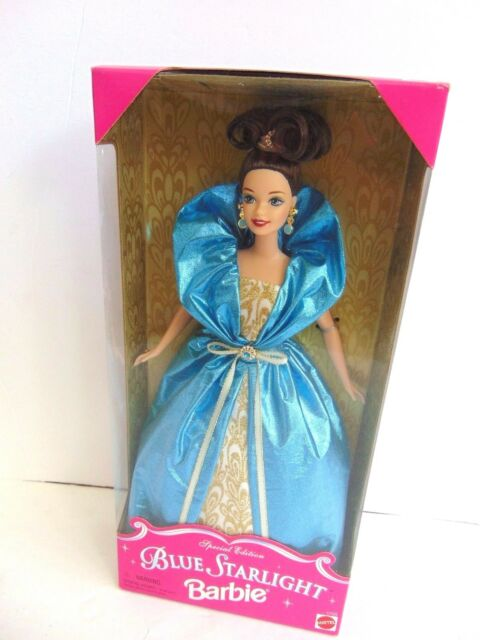 Orginal Beautiful Special  Edition 1996 Blue Starlight Barbie Doll  NEW