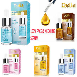 Delia-100-Serum-Face-amp-Neckline-Anti-Wrinkle-vitamins-A-E-F-Collagen-Argan