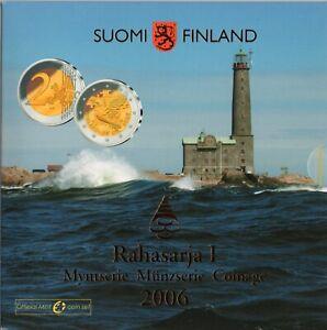 SÉRIE EURO BRILLANT UNIVERSEL (BU) - FINLANDE 2006