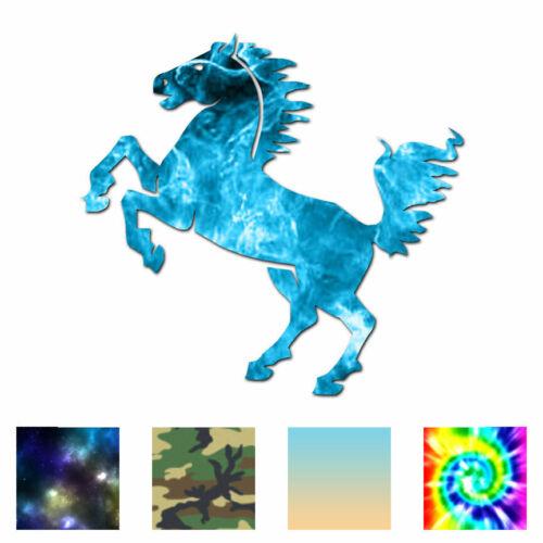 Vinyl Decal Sticker ebn703 Rearing Horse Multiple Patterns /& Sizes