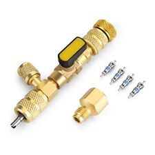 Valve Core Remover Installer Tool With Dual Size Sae 14 Amp 516 Port 4 Valve