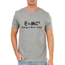 e2daf97e E = MC2 T-shirt Funny Physics Science Einstein Math Equation Nerd Tee Shirts