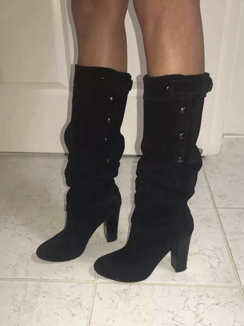726b89dfe6a4e Man/Woman Sigerson Morrison Tall Suede Suede Suede Boots Aesthetic ...