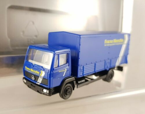 """Herpa MB 814/"""" Franz kerstin especializada comercio mayorista /""""camión azul 1:87 colección h0"""
