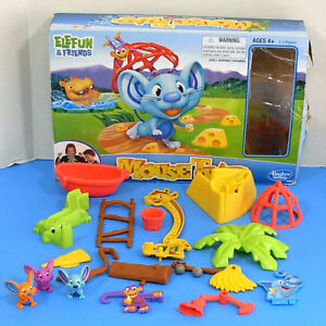 Elefun-Hasbro-Mouse-Trap-Replacement-Parts-Piece-Mouse-Marble-Cage-Tub-Croc-G266