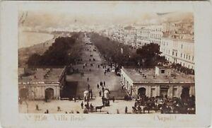 Carlo-Ponti-Napoli-Villa-Reale-Italia-CDV-Foto-Vintage-Albumina-c1860-5