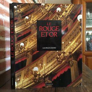 Georges-Banu-El-Rojo-Y-Oro-Una-Poetico-Teatro-De-Italiano-Flammarion-1989