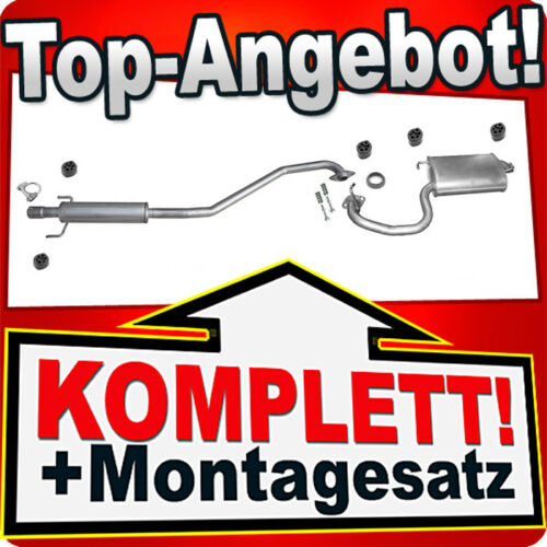 T25 Auspuff TOYOTA AVENSIS 1.8 Auspuffanlage T34