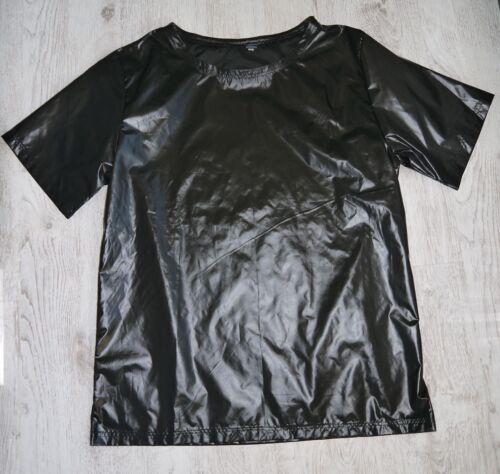 camiseta Ts azul negro 4xl Nylon rojo marino gris brillante brillante S fqw4n75O