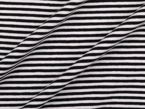 striped 4 colours Cotton jersey stripes 150cm wide app
