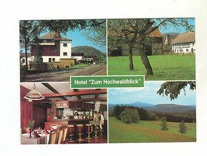 Ak-Lueckendorf-Hotel-034-Zum-Hochwaldblick-034-Boehmisches-Gebirge-Sehr-guter-Zustand