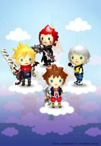 Square-enix - Kingdom Hearts Avatar Trading Arts Vol. 1 pack 4 figurines 5 cm 662248809694