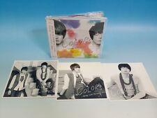 CD + 3 Photo Card SET TVXQ JYJ Colors JAPAN Edition Kim Jae Joong