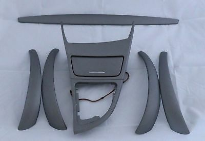 *BMW 1 Series 1 E87 LCI Ashtray Interior Trim Set Dash Dashboard Akzentschliff
