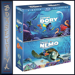 FINDING-DORY-AND-FINDING-NEMO-DISNEY-PIXAR-COLLECTION-NEW-BLURAY-BOXSET