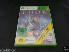 Microsoft Xbox 360 Game Thor God of Thunder New Sealed Promo Version