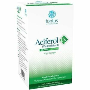 Aciferol D3 50000iu Tablets x 10 - Huddersfield, United Kingdom - EasyMeds Healthcare Ltd priority is customer satisfaction. If for any reason you are not completely satisfied then please contact us within 14 days of receipt of your order and our customer service team will be more than hap - Huddersfield, United Kingdom