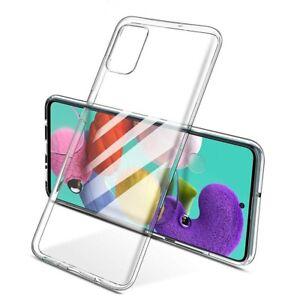 Coque En silicone pour SAMSUNG GALAXY A41 - Transparent