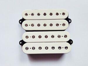 DiMarzio Fusion Edge 7 Humbucker White Neck and Bridge for 7-String Guitar    eBayeBay
