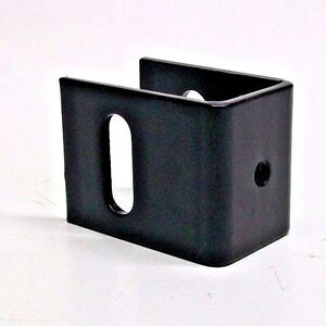 Lot Of 2 New Bunk Bed Safety Rail Brackets Steel Black Nc Ebay