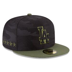 762ec6bde0134e Los Angeles LA Dodgers New Era MLB 2018 Memorial Day 59FIFTY Cap Hat ...