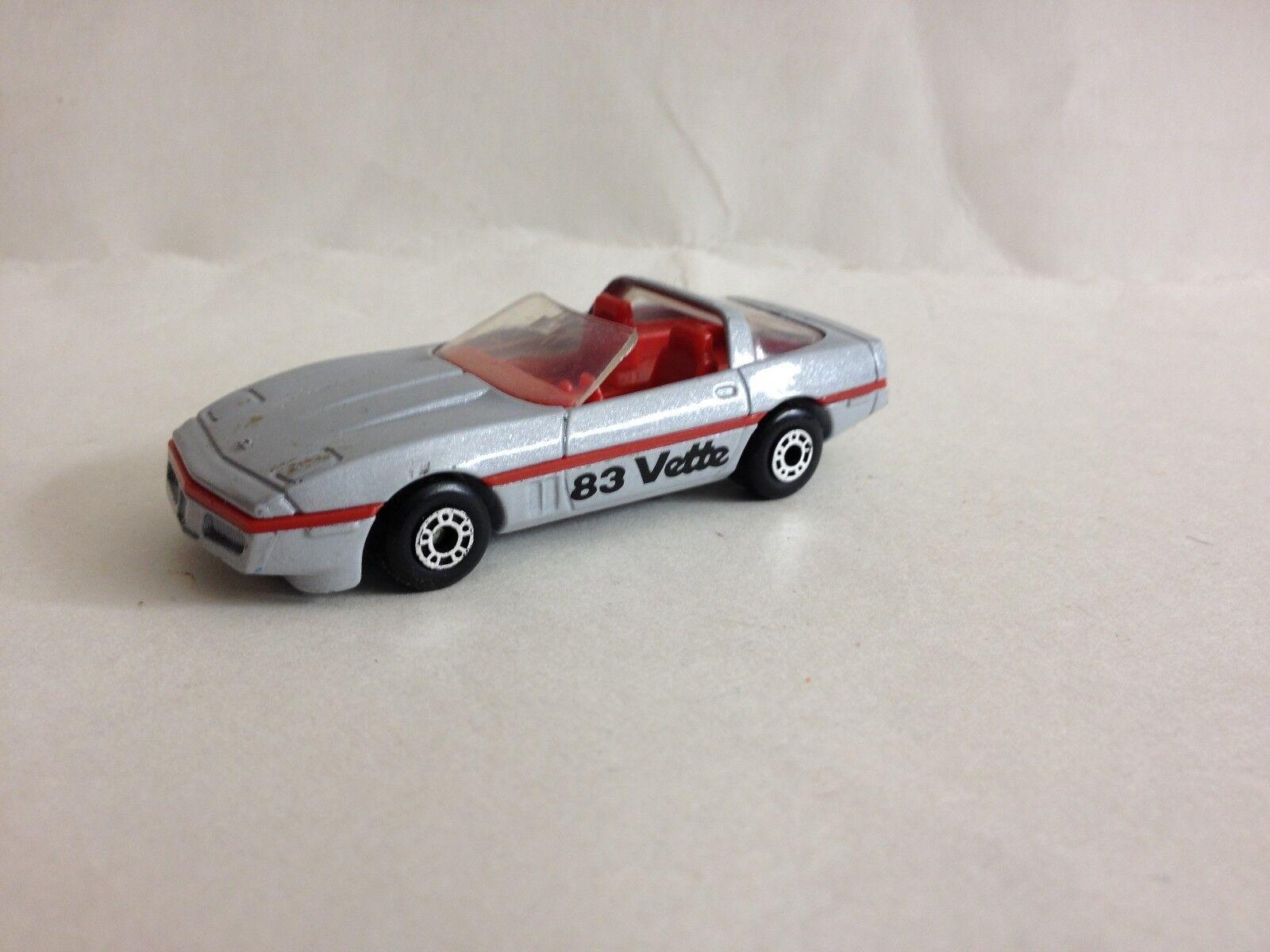 1983 Matchbox Superfast 14 605m83 Rot Corvette Corvette Neu IN Verpackung