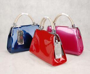 Image Is Loading Yuejin Italian Leather Fashion Handbags