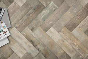 Wandplank 15 Cm.Premium Vintage Wood Plank 15cm X 60cm Wall And Floor Tile Ebay