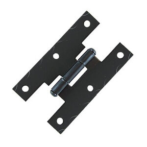 6-Pcs-Black-Smooth-Iron-Flush-Non-Self-Closing-H-Style-Cabinet-Hinge-JH001BL