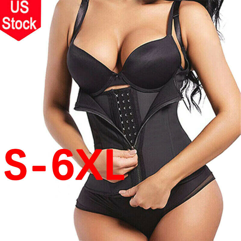 Fajas Reductoras Colombianas Sweat Gym Body Shaper Waist Trainer Cincher Corset