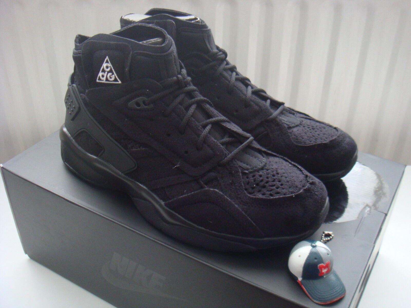 Nike Air Mowabb COMME des Garçons Noir US 12/UK 11 ACG/CDG/DSM/Premium Suede