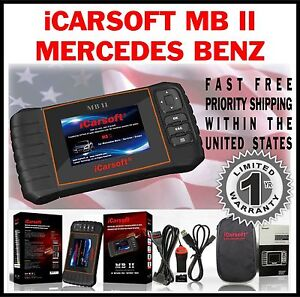 Details about MERCEDES BENZ C CLASS 203 204 OBD2 SCAN TOOL RESET CHECK  ENGINE LIGHT ABS MBII