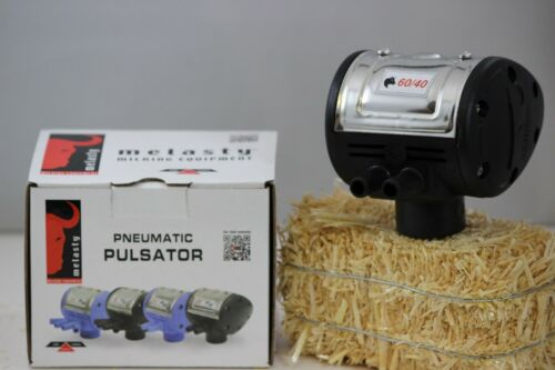 Pulsator for cow milking machine compatible with Tulsan 60//40 Melasty