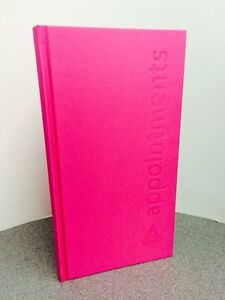 Image Is Loading Agenda 3 Column Appointment Book Hot Pink Nail