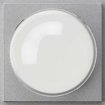Gira Abdeckung 141565 Farbkamera TX/_44 Farbe Alu