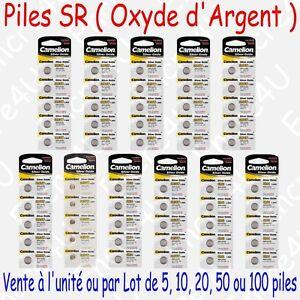 Piles-Oxyde-d-039-Argent-SR41-SR43-SR44-SR54-SR57-SR58-SR59-SR60-SR63-SR66-SR69