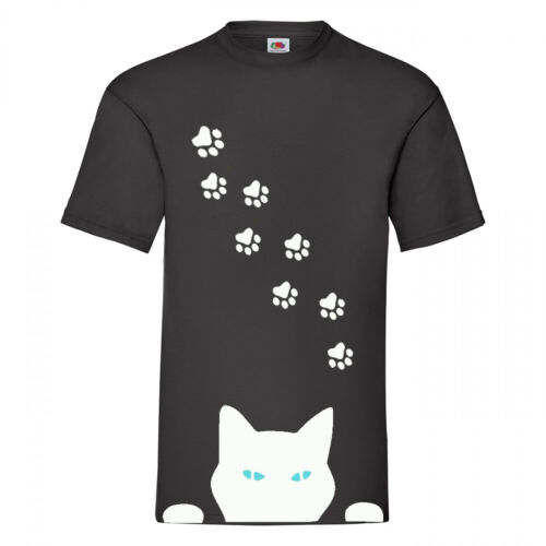 PEEPING TOM CAT UNISEX T-SHIRT