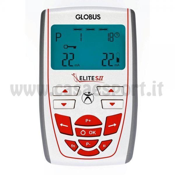 Elettrostimolatore GLOBUS ELITE S II 2 riabilitazione 100 programmi riabilitazione 2 sport G3552 f2e312