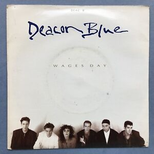 Deacon-Blue-Wages-Day-Take-Me-To-The-Place-CBS-DEAC-8-VG-Condition