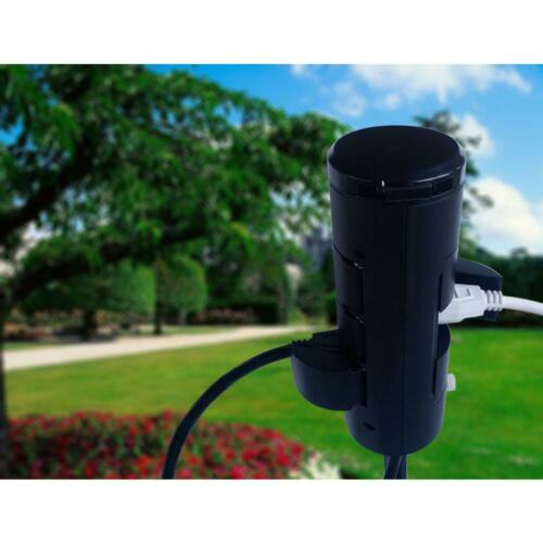 Power Stake HDX Outdoor 6-Outlet 6 ft